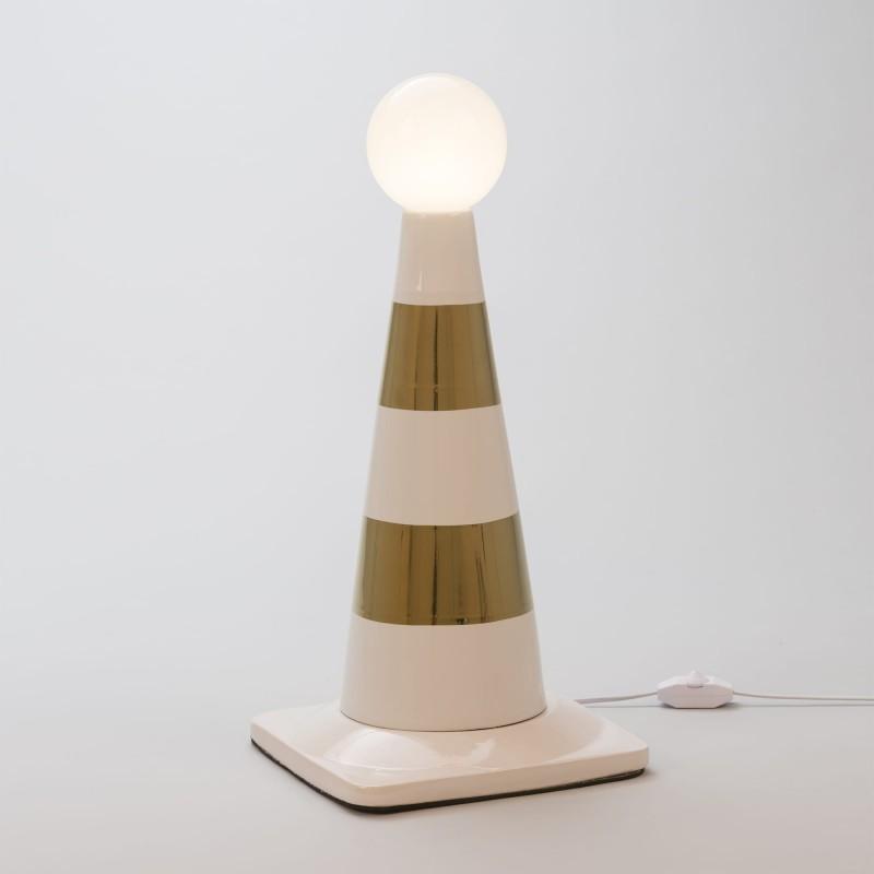 Le Life Street En Porcelaine Par Studio Lampe Amebe A Poser Seletti VpzGLqSUjM